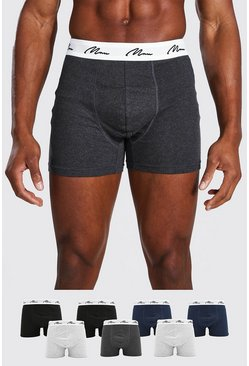 Lot de 7 boxers MAN, Multi