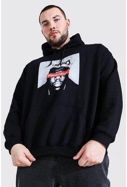 Grande taille - Sweat à capuche officiel Notorious Big, Black