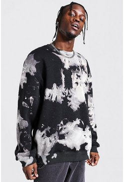 Charcoal Oversized MAN Official Bleach Sweatshirt
