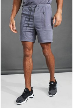 Charcoal MAN Active Contrast Pocket Short