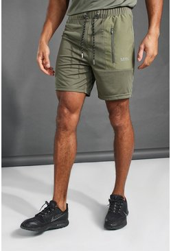 Khaki MAN Active Contrast Pocket Short