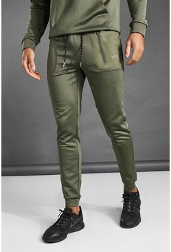 Khaki MAN Active Contrast Pocket Jogger