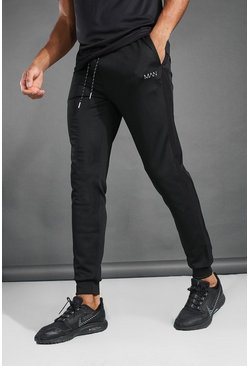 Black MAN Active Contrast Detail Jogger