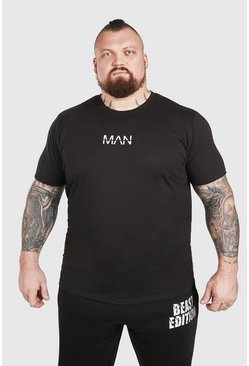 T-shirt imprimé - MAN Active X Beast, Black