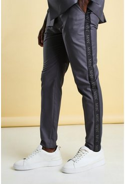 Blue MAN Skinny Tape Suit Trouser