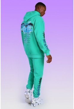 Official Man Graphic Print Tracksuit