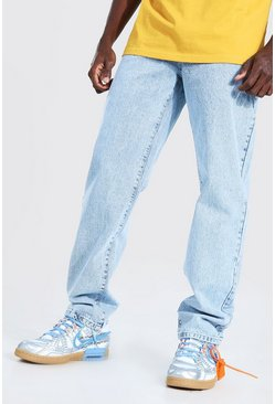 Relaxed-Fit Jeans, Hellblau