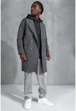 Trench classique, Charcoal