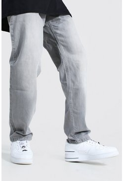 Mid grey Relaxed Fit Rigid Jean