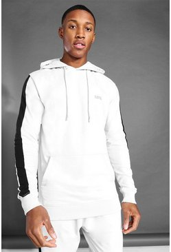 Ash MAN Active Side Stripe Over The Head Hoodie