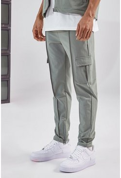 Olive Tailored Cargo Pant