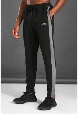 Jogging color block - MAN Active, Noir