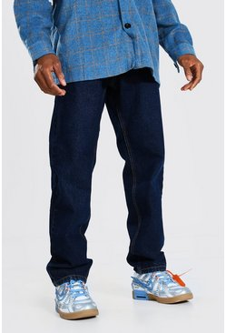 Dark blue Relaxed Fit Rigid Jean