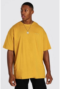 Mustard Official MAN Oversized T-Shirt