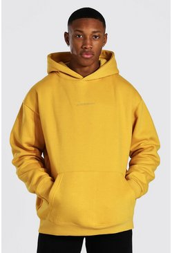 Mustard Oversized MAN Official OTH Hoodie