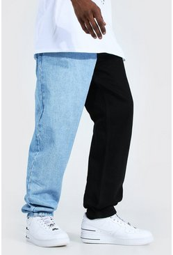 Ice blue Relaxed Fit Spliced Jean