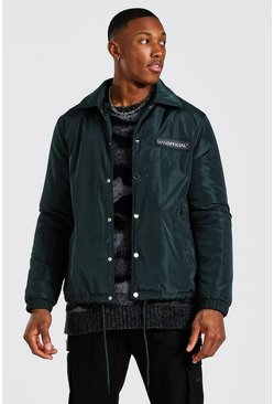 Veste coach - MAN Official, Green