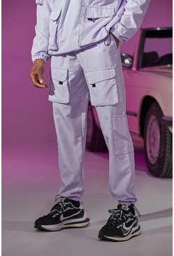 Lilac Official Tab Utility Pocket Cargo Jogger