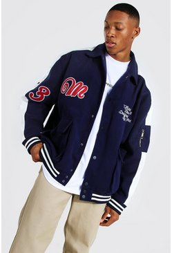 Blue Utility Varsity Harrington