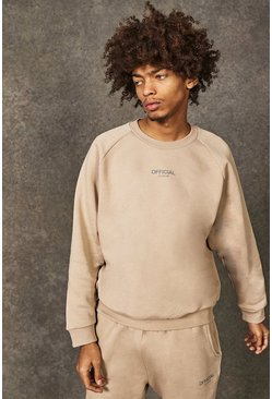 Taupe Official Collection Heavyweight Sweater