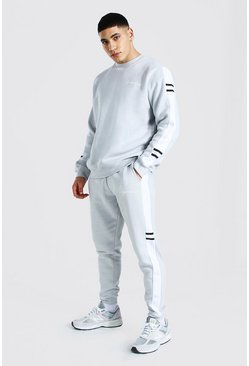 Grey Man Official Side Panel Sweater Tracksuit