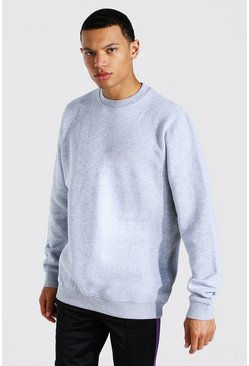 Grey marl Tall Basic Sweater