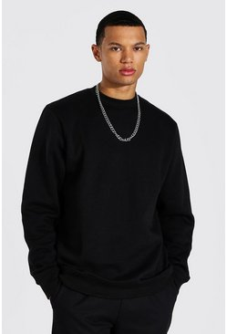 Black Tall Basic Sweater