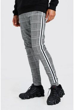 Grey Tall Man Signature Jacquard Jogger With Tape