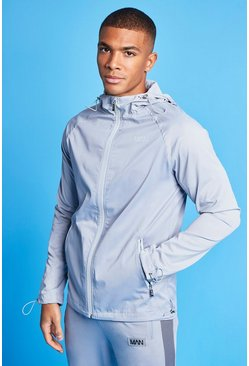 Grey Man Active Tonal Windbreaker