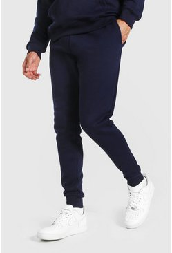 Navy Tall Basic Slim Fit Jogger