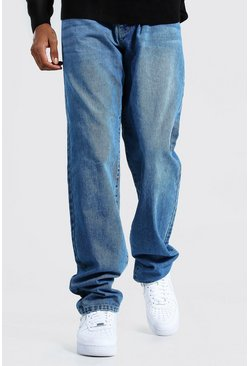 Tall Relaxed Fit Jean, Mid blue