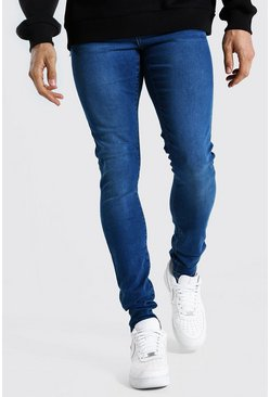 Tall - Jean super skinny, Mid blue