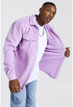 Lilac Man Official Fleece Overshirt