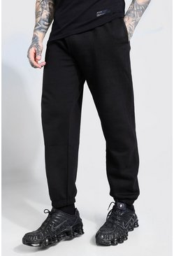 Jogging ample basique, Black