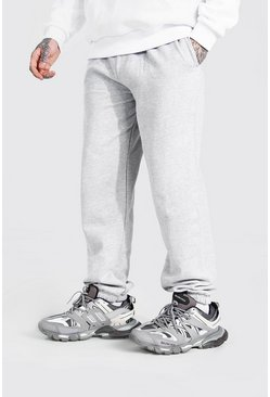 Grey marl Basic Loose Fit Joggers