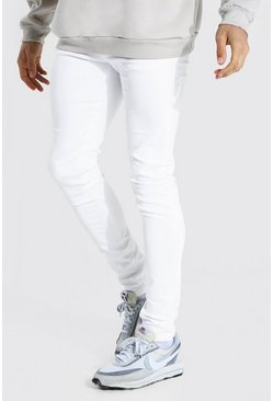 White Tall Skinny Jean