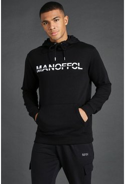 Black Man Active Oth Gym Hoodie
