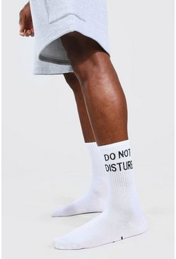Multi 2 Pack Do Not Disturb Socks