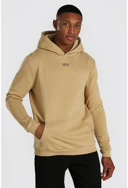 Sand Original Man Heavyweight Over The Head Hoodie