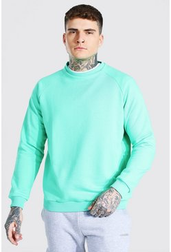 Jade Heavyweight Raglan Sweatshirt