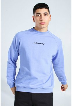 Blue Man Official Heavyweight Raglan Sweatshirt