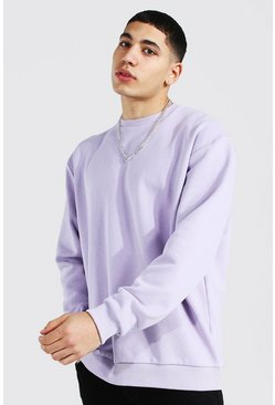 Lilac Oversized Heavyweight Sweatshirt