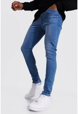 Light blue Super Skinny Stretch Jean