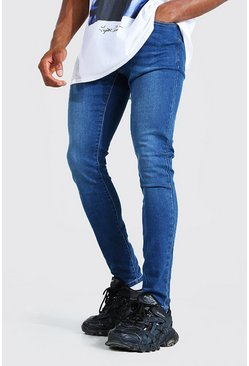 Mid blue Super Skinny Stretch Jean