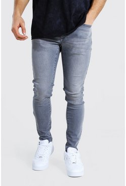 Mid grey Super Skinny Stretch Jean