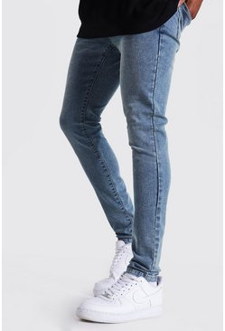 Vintage blue Super Skinny Stretch Jean