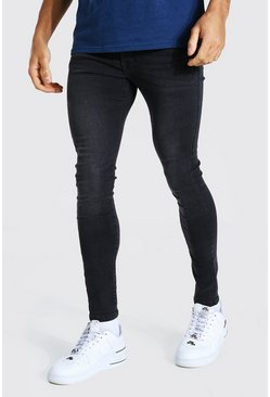 Charcoal Super Skinny Stretch Jean