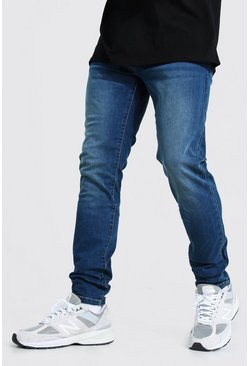 Antique blue Skinny Stretch Jean