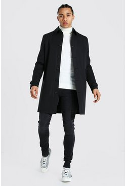 Tall - Trench droit, Black