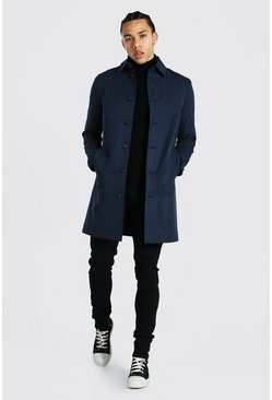 Tall - Trench droit, Navy